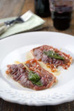Saltimbocca alla Romana Royalty Free Stock Photos