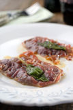 Saltimbocca alla Romana Stock Photos