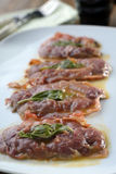 Saltimbocca alla Romana Stock Photo