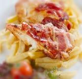 Pollo Saltimbocca fotografie stock