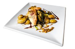 Saltimbocca del pollo fotografia stock libera da diritti