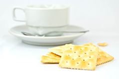 Saltine crackers Royalty Free Stock Photos