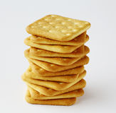 Saltine crackers Royalty Free Stock Photography