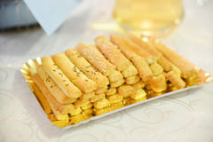 Saltine crackers Royalty Free Stock Photo