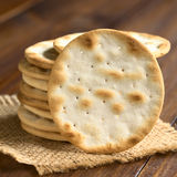 Saltine or Soda Crackers Stock Images