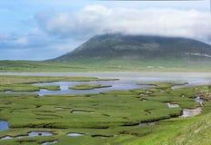 Saltings auf Insel von Harris Lizenzfreie Stockbilder