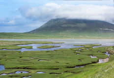 Saltings on Isle of Harris Royalty Free Stock Images