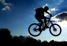 Salto! Fotografia Stock
