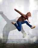 Salto. Foto de Stock Royalty Free