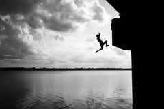 salto Fotografia Stock