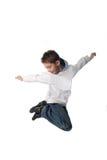 Salto! Imagens de Stock Royalty Free