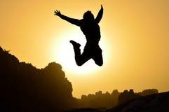 ¡Salto! Fotos de archivo