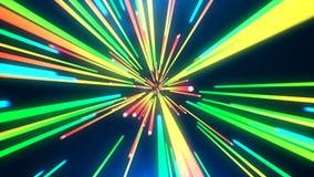 Salto abstracto a tiempo foto de archivo