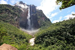 Salto Angel, Venezuela stock photography