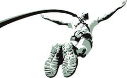 Salto da corda Fotografia de Stock