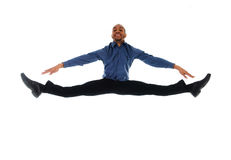 Salto da dança Imagem de Stock
