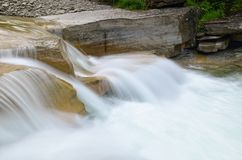 Salto de agua Fotografía de archivo libre de regalías