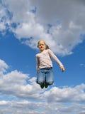 Salto de altura Imagenes de archivo