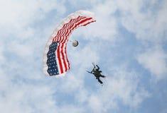 Salto de cielo Fotos de archivo