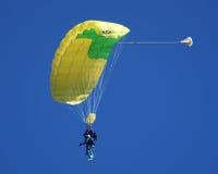 Salto de cielo en tándem Fotografía de archivo libre de regalías