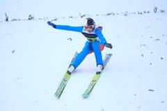 Salto de esquí - Espen Andersen Imágenes de archivo libres de regalías