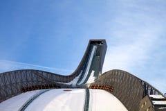 Salto de esqui de Holmenkollbakken, Noruega imagem de stock royalty free