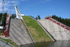 Salto de esqui de Holmenkollen Imagem de Stock