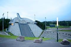 Salto de esqui de Holmenkollen (Holmenkollbakken) foto de stock royalty free
