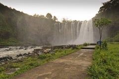 Salto de Eyipantla en México Imagen de archivo libre de regalías