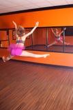Salto de la danza Fotos de archivo