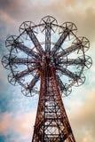 Salto de paraquedas Coney Island Fotografia de Stock Royalty Free