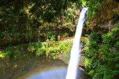 Salto de San Anton II. 39 m waterfall known as salto de san anton, located in the city of cuernavaca, morelos, mexico Royalty Free Stock Photos