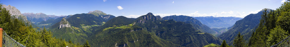 Salto degli Sposi Panoramic Stock Photography