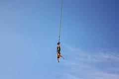 Salto del amortiguador auxiliar Fotografía de archivo libre de regalías