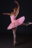 Salto del ballet Fotos de archivo