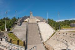 Salto del cielo en Holmenkollen Imagen de archivo
