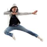 Salto del karate Fotos de archivo