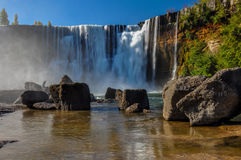 Salto del Lajas, Highway 5, Chile Royalty Free Stock Photo
