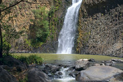 Salto del Nogal Waterfall and Pool Stock Photo