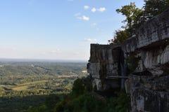 Salto del ` s dell'amante ai giardini della città della roccia a Chattanooga, Tennessee Fotografie Stock