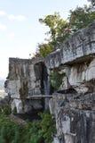Salto del ` s dell'amante ai giardini della città della roccia a Chattanooga, Tennessee Immagine Stock