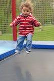 Salto del trampolino Fotografia Stock Libera da Diritti