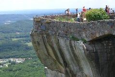 Salto dell'amante alla città della roccia Fotografia Stock