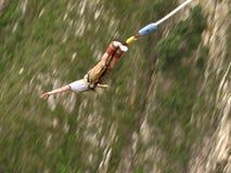 Salto dell'ammortizzatore ausiliario Fotografia Stock Libera da Diritti