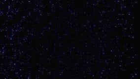 Salto dell'iperspazio attraverso le stelle ad uno spazio distante Tunnel astratto del buco del verme nel ciclo Muoversi infinito  illustrazione di stock