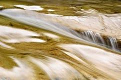 Salto di acqua Fotografia Stock