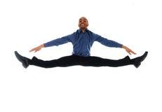Salto di ballo Immagine Stock