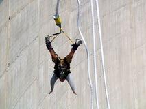 Salto di Bungy Fotografia Stock Libera da Diritti