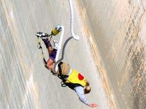 Salto di Bungy Fotografie Stock Libere da Diritti