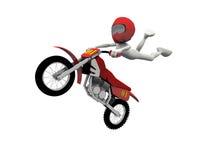 Salto di motocross royalty illustrazione gratis